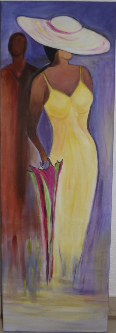 acrylbild 3 von künstlerin lilo ernek